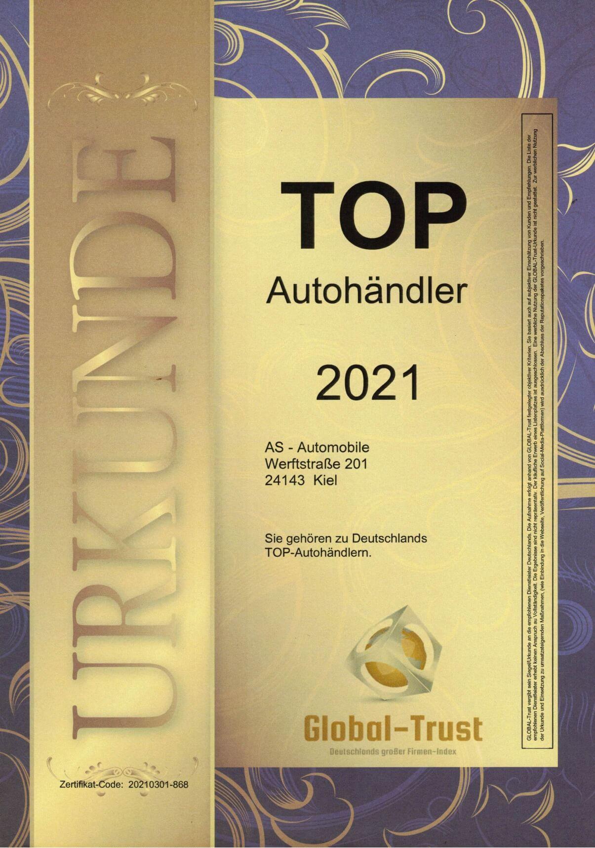 Top Händler AS Automobile
